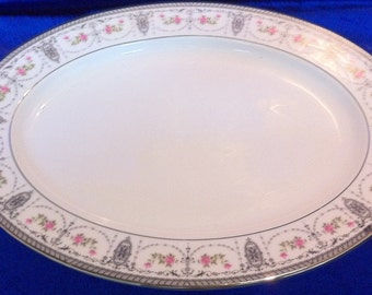 Noritake Clarice Oval Platter