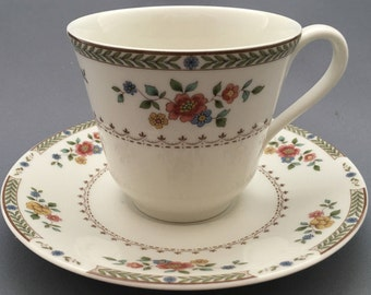 Royal Doulton Kingswood TC.1115 Tea Cup and Saucer