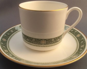 Royal Doulton Rondelay Coffee Cup and Saucer.