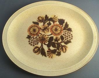 Poole Thistlewood Oval Platter