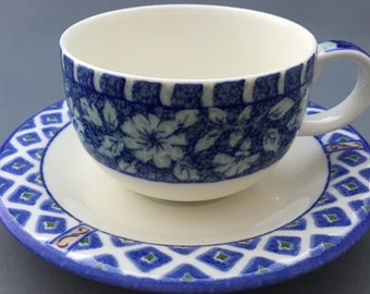Royal Doulton Marisol Tea Cup and Saucer