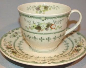 Royal Doulton Provencal Tea Cup and Saucer