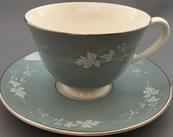 Royal Doulton Reflection Tea Cup and Saucer