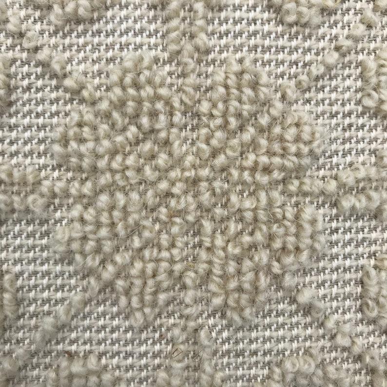 bohemian pillow cover Ecru natural textured cushion cover hand woven in Sardinia cushion boho chic cushion 45x45cm throw pillow cover