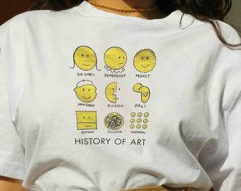 33150746 Art history tshirt | Etsy