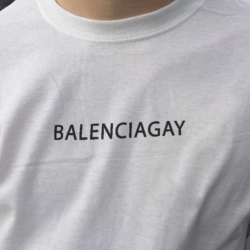 e96f5fab Balenciagay T-Shirt | Etsy