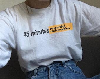 Respectful Conversation T-Shirt