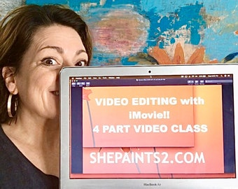video editing class -imovie - facebook lives - videos - youtube - online marketing - small business - social media - video tutorial