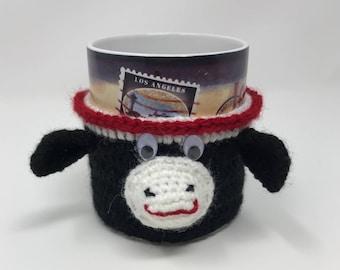 Handmade Cow Mug Warmer