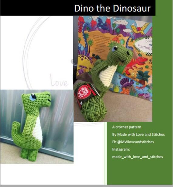 Amigurumi Dinosaur Free Crochet Patterns | Δεινόσαυροι | 613x570