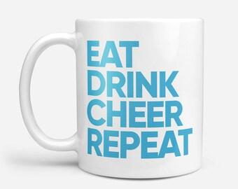 Fun Mug, Coffee Mug, Sports Fan Gift, Sports Mug, Sport Lovers Gift, Modern Mug, Sport Gift, Typographic Mug, Fathers Day Gift