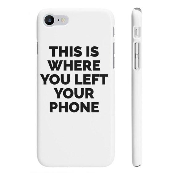 slogan iphone 8 case