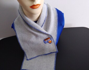 University of Kentucky Neck Warmer, Cow Scarf with Velcro Fastener