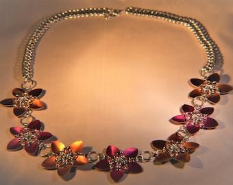 Custom Floral Necklace