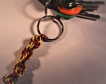 Custom Double Spiral Keychain