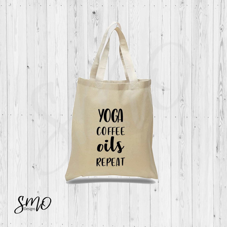 0abd4b4a46 Essential Oil Tote Bag Yoga Coffee Oils Repeat Tote bag