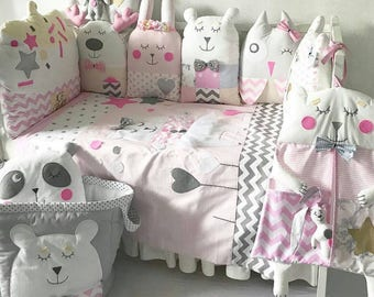 Complete Baby Bedding set (8 PIECES)
