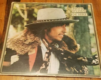 Vinyl: Bob Dylan, Desire, Sleeve and Record, FREE SHIPPING