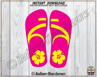 fc9dc97253c55 Tropical Flip Flops