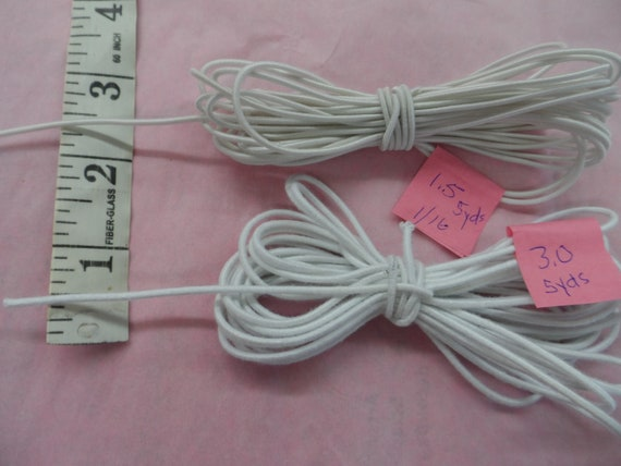 "10 Yards Of Doll Stringing Elastic Bungee Cord 3MM 8/"" to 12"" Alexander Ginny USA"