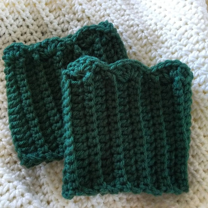 Simple boot cuffs
