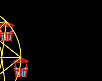 Circus Carnival Snapchat Geofilter