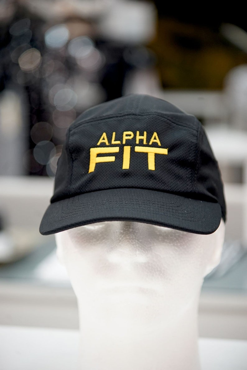 233dc1bb1e99e Alpha FIT 5-Panel Dri-Fit performance cap black Ice Cold