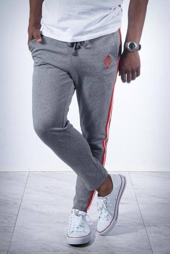 Originals SuperNupe track pants v.1 grey workout pants Kappa Alpha Psi NUPE