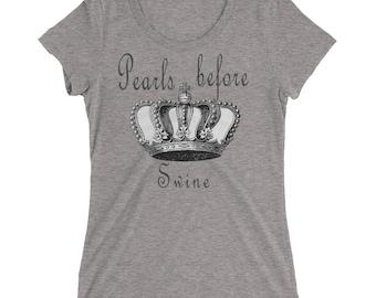 Pearls Before Swine Ladies' short sleeve t-shirt