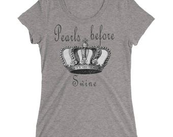 Pearls Before Swine Ladies' short sleeve t-shirt