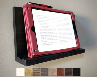 Tablet Stand, Wall Mount / IPad Holder, Tablet Holder, Tablet Shelf, Shelf for Tablet, Wall Tablet Stand, IPad Shelf for Wall, Phone Shelf