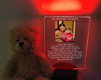 My Beautiful Daughter Personalized Photo led Table Light
