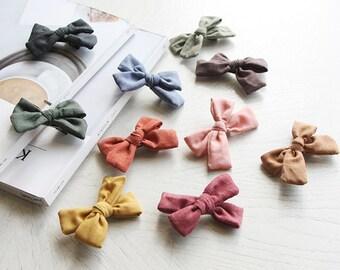 Hazel - Ribbon Hair Clip For Baby & Children