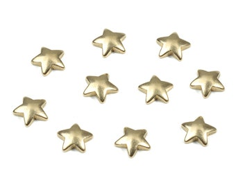 24x22mm Raw Brass Blank Star Charm RB344 Brass Findings Wholesale Star Necklace Stamping Blank Star Pendant Blank Stamping