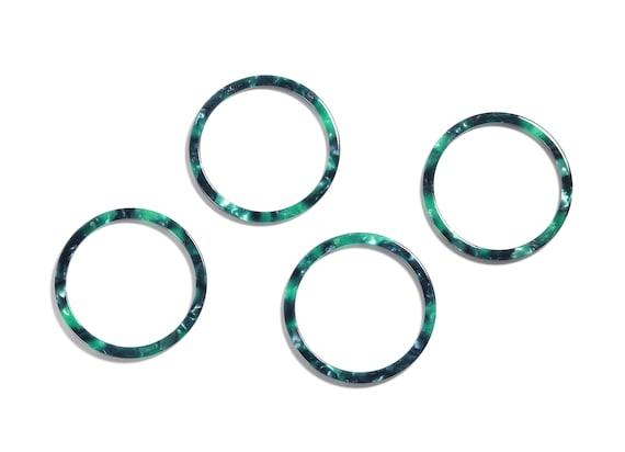 AC1164S Amber Tortoise Shell Earrings Acetate Hoop Earrings Charms Color Code:A02-65x65x2.27mm Circle Shaped Pendant