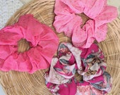 Pink Scrunchies