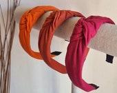 Knot Headband, Hairband Turban, Bright Colours