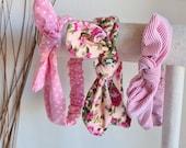 Baby/Toddler Knotted Headband, Bunny Headband