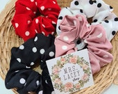 Dotted Scrunchies