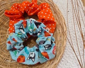 Pattern Dotted Scrunchies