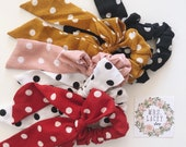 Bow Knot Scrunchies / Bow Scrunchies