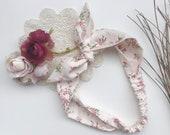 Toddler Headband, Baby Knot Headband