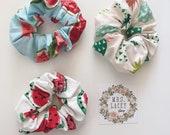 Cotton Scrunchies, Fruit Scrunchies