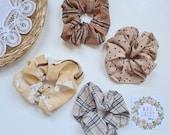 Latte, Neutral Collection Scrunchies