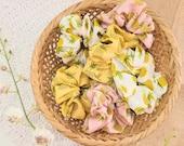 Pineapple Scrunchies