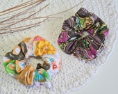 Donuts Cotton Scrunchies