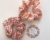 Dotted Scrunchies, Chiffon Scrunchies