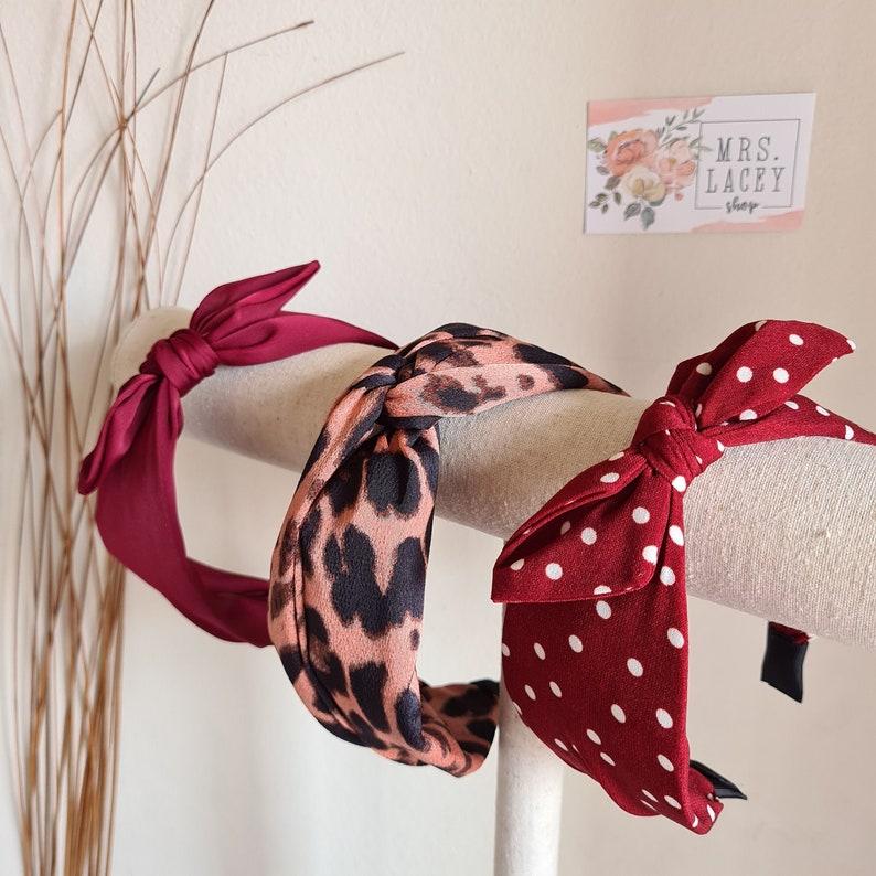 Knot Headband Hairband Turban image 0