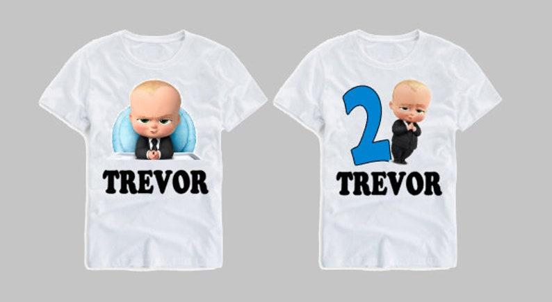 9246520e5 Boss Baby T Shirt Boss Baby Boss Baby Birthday | Etsy