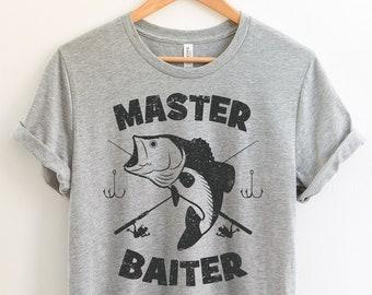 45606166 Master Baiter Funny Fishing T-Shirt